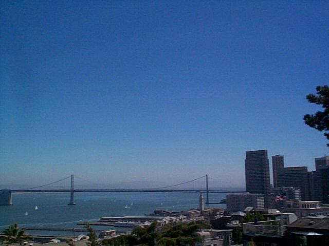 Pictures from Telegraph Hill, San Francisco